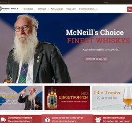 Onlineshop für Mc Neill's Whisky aus Aschaffenburg