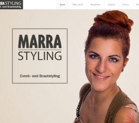 Homepage für eine Visagistin aus Aschaffenburg